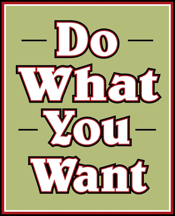 """To the INFJs out there """"Do what youwant"""""""